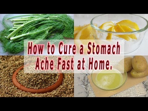 How to Cure a Stomach Ache – How to Cure a Stomach Ache Fast at Home