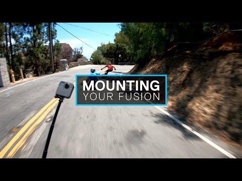 GoPro: Fusion Quick Start - Mounting