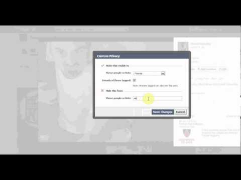 Facebook how to make pictures public or private december 2012