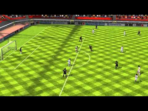 FIFA 14 Android - FALCAO'S 11 VS MESSI'S 11