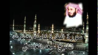 سورة البقرة كاملة الشيخ سعد الغامدي Sura Al-Baqarah by Saad Al Ghamdi