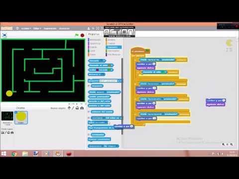 Scratch Pacman parte 1 completo