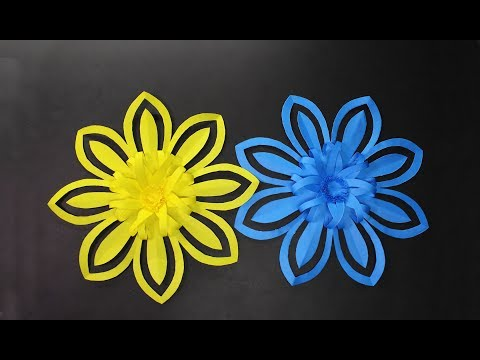 How to Make Amazing Origami Flower Using Color Paper | crazyMCH