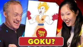Download Animator Vs. Cartoonist Draw Dragon Ball Z Characters From Memory (ft. Ross Draws) Video