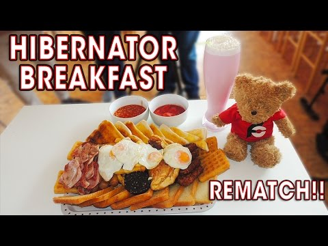 7lb HIBERNATOR BREAKFAST Challenge REMATCH!!