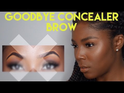 HOW TO: EYEBROW TUTORIAL | Natural Looking Full Brows Without Concealer