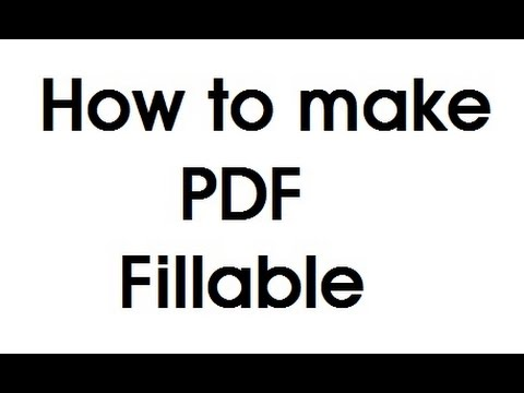 Fillable PDF Form Online Free 2015