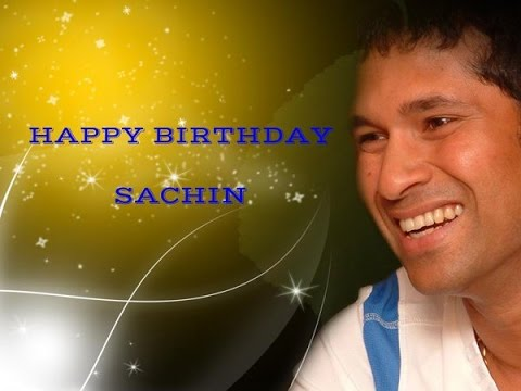 Sachin Tendulkar | Birthday Video Greeting