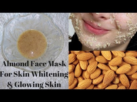 Almond Face Mask For Skin Whitening And Glowing Skin | Reduces Acne Scars And Pimples.