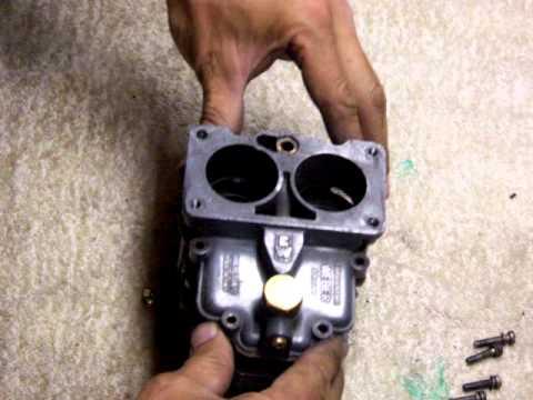 Weber 36dcd carburettor