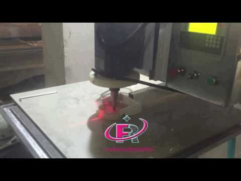 Ruifeng Glass drilling machine video