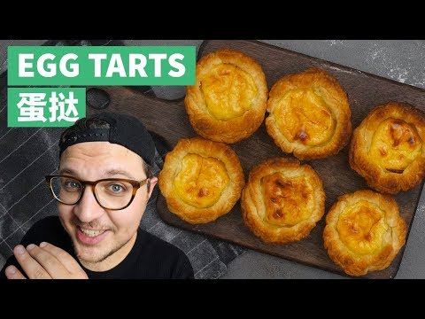Easy Egg Tart Recipe: Tasty Custard Puff Pastry Dessert (with Secret Twist)