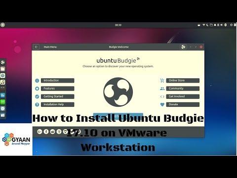 Ubuntu Budgie 17.10 Artful Aardvark Review   Installing Ubuntu Budgie 17.10 on VMware Workstation