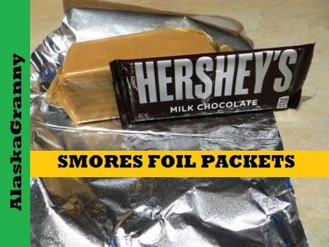 Smores Foil Packets For Campfires Grills And Cook Outs
