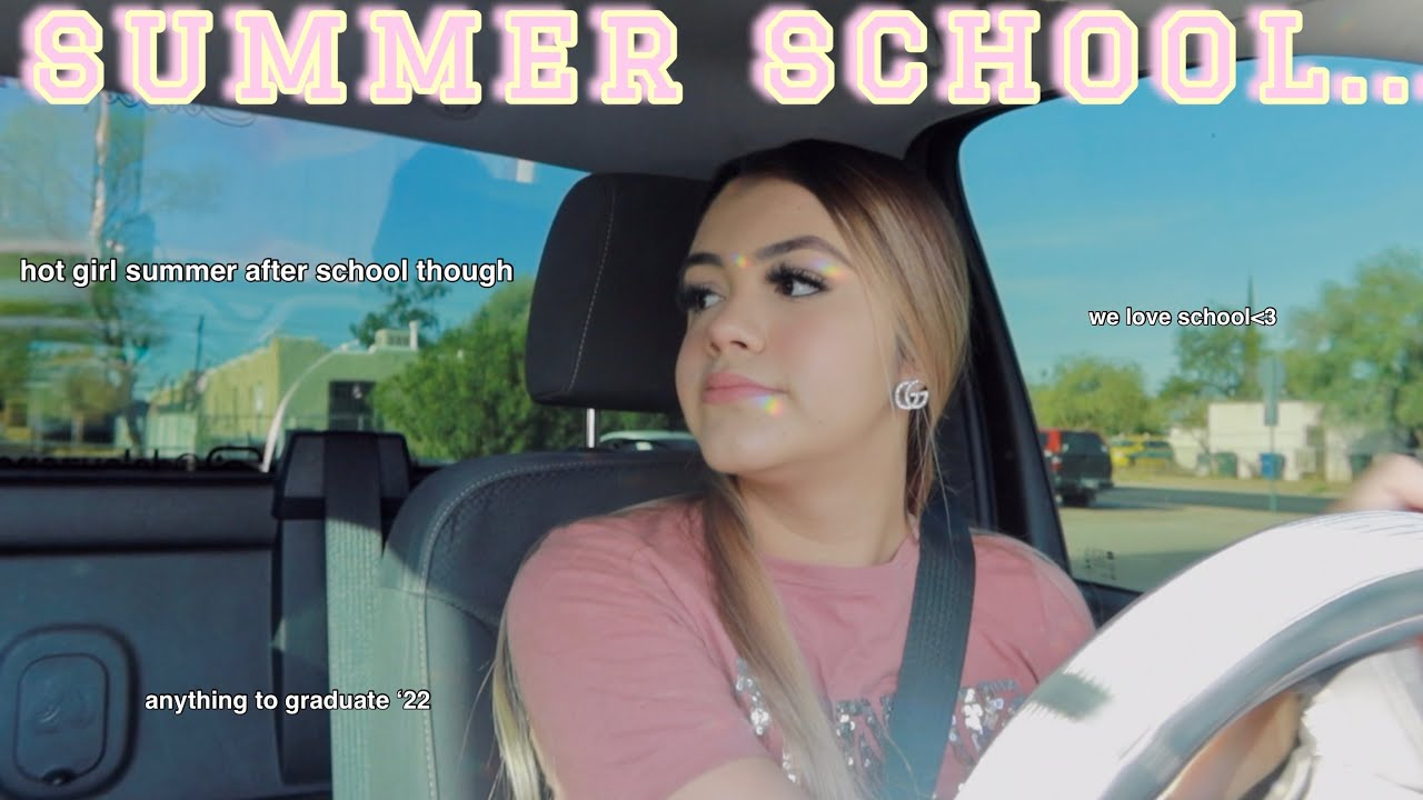 First Day Of Summer School In Person Vlog !