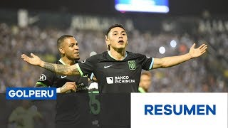 Resumen: Alianza Lima 1-2 Millonarios por la Noche Blanquiazul