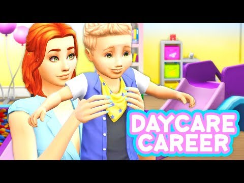 DAYCARE CAREER🌈😍 // MOD REVIEW | THE SIMS 4