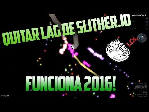 COMO QUITAR EL LAG DE SLITHER.IO 2016!