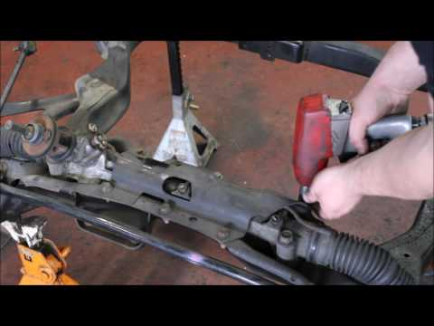 How To #3. Front subframe removal and installation.