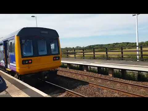 Fast pacer at Teesside airport station (TEA)
