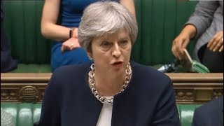 Theresa May holds a second emergency debate in the Commons
