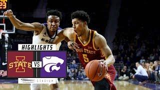 No. 23 Iowa State vs. No. 18 Kansas State Basketball Highlights (2018-19) | Stadium