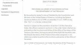 Heads Up Suspicious Executive Orders Were Just Quietly Signed By Obama