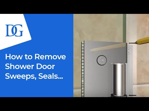 Dulles Glass & Mirror | Frameless Shower Door Sweeps and Jambs