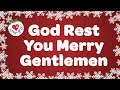 God Rest You Merry Gentlemen With Lyrics Christmas Carol Sun