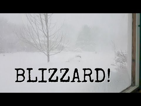 12+ inches of Snow | Minnesota Blizzard