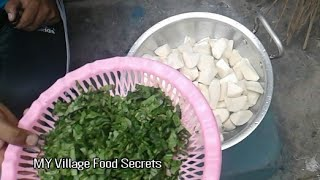 Shalgam Palak Recipe❤ Village style💛 MY Village Food Secrets
