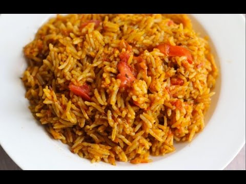HOW TO MAKE BASMATI JOLLOF RICE RECIPE