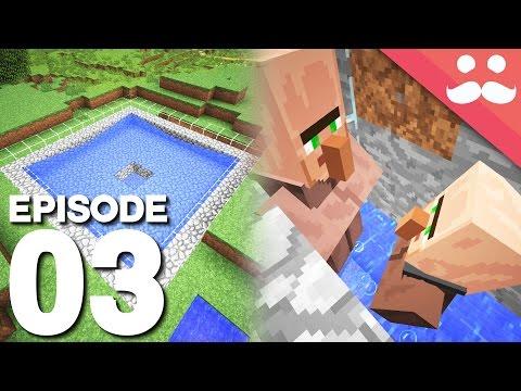 Hermitcraft 5: Episode 3 - IRON FARM!
