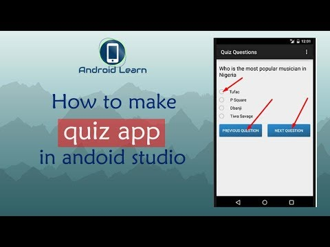 How to Make Quiz App in Android Studio