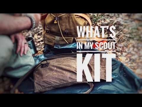 What's In My Minimal Bushcraft / Scout Kit
