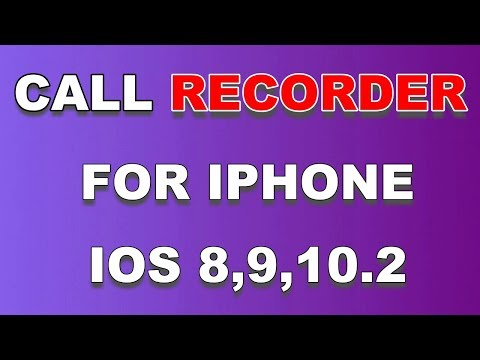 Free Call Recorder For iPhone (2017) : Record Calls,Skype,FaceTime,whatsapp..iOS8 to ios10.2