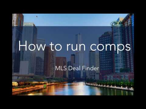 How to Run Comps