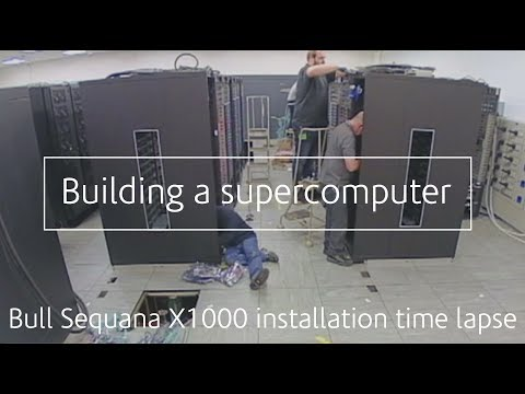 Building a supercomputer | Scafell Pike Time Lapse | Bull Sequana X1000
