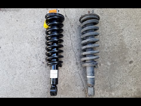 Toyota Tundra & Sequoia Strut Replacement 1999-2007