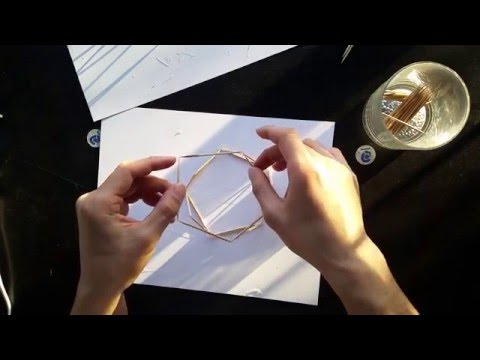 Toothpick Geodesic Domes Timelapse