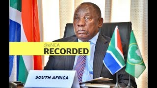 President Cyril Ramaphosa leads call for a National Day of Prayer