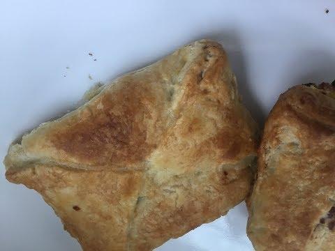 Grenadian Meat pockets   Salami pockets