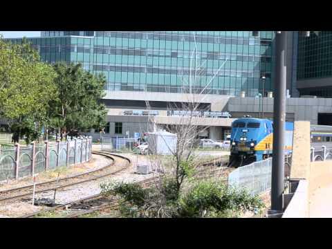 QUEBEC CITY FIRE TRUCK / VIA RAIL TRAIN