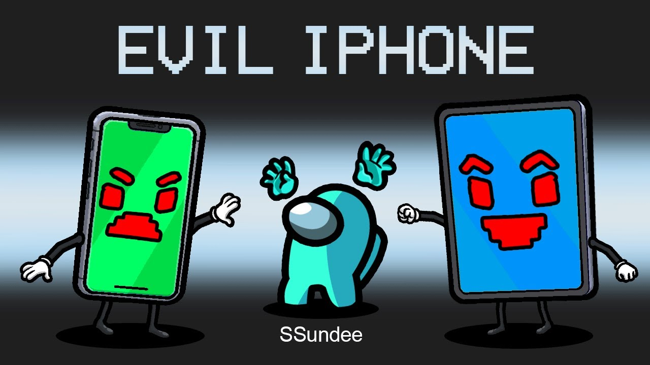 EVIL iPhone IMPOSTER in Among Us