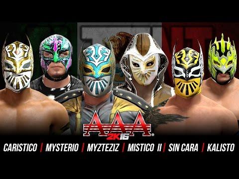 Triplemania 2k16 rey mysterio vs sin cara vs mistico vs - Sin cara definition ...