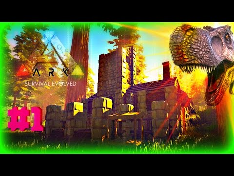 ✅ARK Survival Evolved | Primitive Plus | Let's Build a Redwood Town | Ep # 1 First House🌴🏠🌲🌳🍁