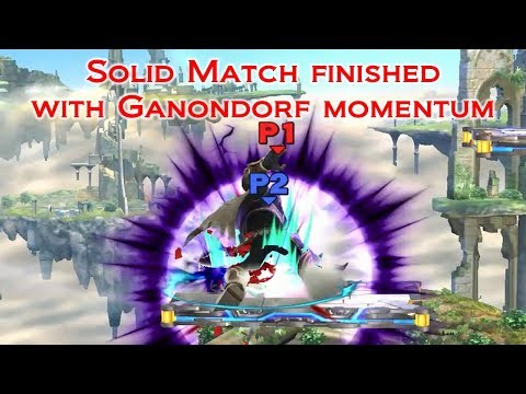 Solid Match finished with Ganondorf momentum