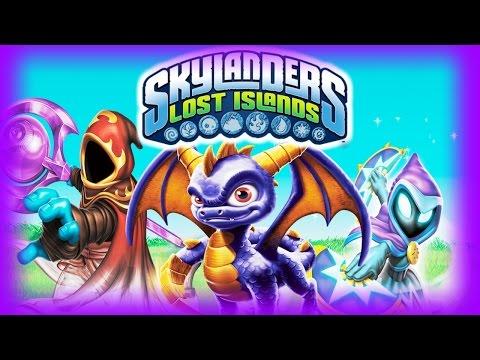 Skylanders: Lost Islands Brief Gameplay