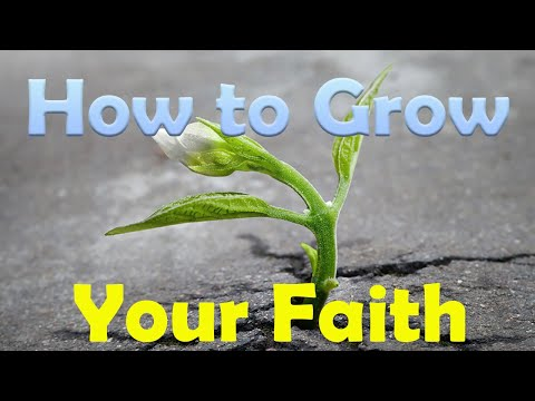 How to Grow Your Faith