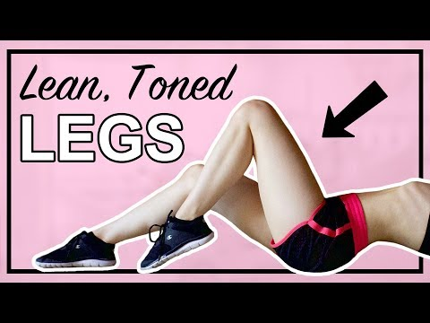TONED LEGS WORKOUT | Exercises for Sexy Lean Legs
